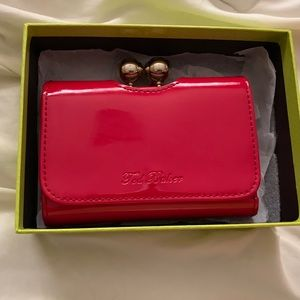 Red Ted Baker Wallet